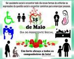 15 de maio: Dia do Assistente Social!