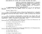 Em decreto, governo extingue Gerências Executivas e reduz cargos em comissão no INSS
