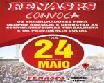 #OCUPEBRASILIA - 24 de maio é dia de ocupar Brasília e lutar para derrotar as reformas Trabalhista e da Previdência Social!