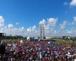 Greve Nacional da Educação é marcada por atos massivos e paralisações contra o governo de Bolsonaro