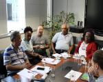 Mudanças estruturais no atendimento do INSS são pauta de reunião com DGP, Dirat e Dirben do instituto